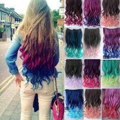dip dye color extensions