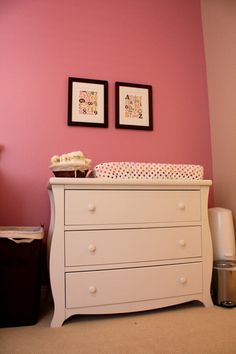 Love the dresser and the paint color