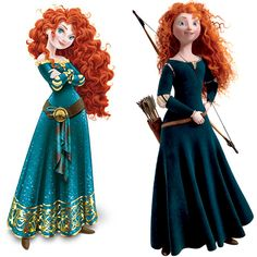 Brave': Merida remains the girl you know and love -- EXCLUSIVE ...