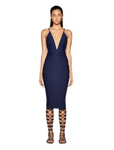 LALLA DEEP V DRESS - Dress