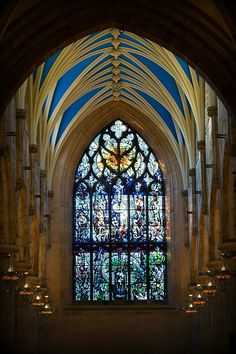 Cathedral by John Stokes, via 500px - St. Giles Cathedral, Edinburgh, Scotland.  A masterful photograph of an incredible place.