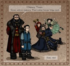 The Hobbit: Daddy! Part One: Lesson for Life by wolfanita on deviantart