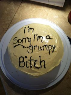 """10 Cakes That Says """"I'm Sorry"""" Better Than You http://www.gossipness.com/funny/10-cakes-that-says-im-sorry-better-than-you-2226.html"""
