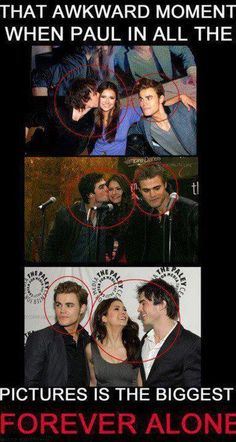 Nina, Ian & Paul. Funny how real life is eerily similar to the show plot