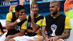 Hulk Neymar Dani Alves