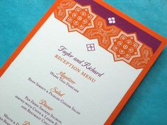 Moroccan themed invitations?