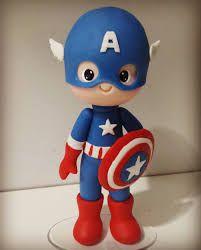 Resultado de imagen para como fazer superheroes baby em biscuit