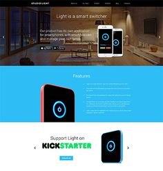 Studio Light is a responsive crowdfunding WordPress template running on Cherry Framework 4 and enhanced with Bootstrap options. Responsive Slider, Responsive Web, Web Development Company, Software Development, Wordpress Template, Wordpress Theme, Online Store Builder, Simple Website, Seo Optimization