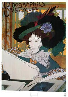 Lithographies Originales  Georges de Feure