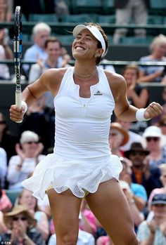 Muguruza initially took a disliking to grass after losing her first match on it three years ago in Birmingham