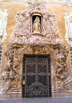 Ceramics Museum - Sight-Seeing / Attractions in Valencia, Spain  Museo Nacional de Ceramica Gonzalez Marti ( Palacio Del Marques De Dos Aguas ), Valencia, Spain
