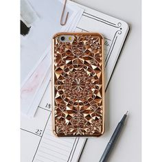 Kaleidoscope iPhone Case ($40) ❤ liked on Polyvore featuring accessories, tech accessories, apple iphone case, iphone sleeve case, slim iphone case, iphone cover case and free people iphone case