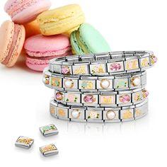 Marvellous for mum! Nomination Bracelet, Nomination Charms, Hand Accessories, Hand Henna, Charm Bracelets, Pandora, Jewels, Gemstones, Jewellery