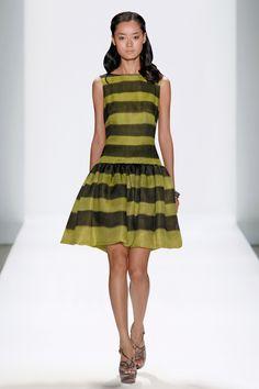 #TadashiShoji Hand-Painted Striped #CocktailDress #NYFW #SS12 ©DAN & CORINA LECCA Paint Stripes, Beatnik, Tadashi Shoji, Old And New, Style Me, Fashion Dresses, High Neck Dress, Fashion Design, Outfits