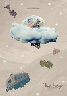 Love this dreamy cloud sequence Book Posters, Movie Posters, Map Collage, Eugenia Loli, Concept Draw, Poster Layout, Menu Layout, Mood Indigo, Typography Poster