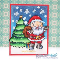 #SomeOddGirl #santa #buildasnowman #christmas #ellenh