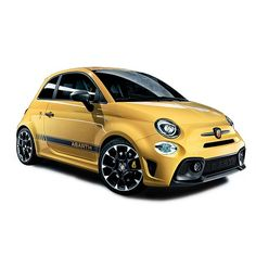 Modena Yellow: the official colour of performance. #595challenges #abarth…