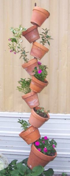 Build Your Own Flower Tower