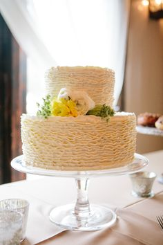 Ruffle Cake by D'Lish
