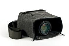 Cloak Camera Bag - The world's first shoot-through camera bag. ($69.00, http://photojojo.com/store)