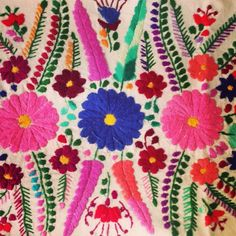 Mexican embroidered