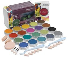 Over the Rainbow Pty Ltd : Pan Pastel Ultra-Soft 20 Colour Set - Shades - PanPastel Colors are professional grade soft pastel colors packed in a unique pan . Pastel Shades, Dark Shades, Color Shades, Pastel Colors, Soft Pastels, Prismacolor, Artist Painting, Painting & Drawing, Drawing Tools