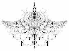 underboob dagger tattoo - Pesquisa Google