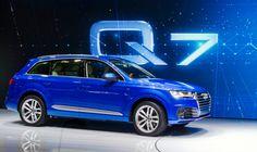 2016 Audi unveils the new Q7 sports utility vehicle at 2015 Detroit Auto Show