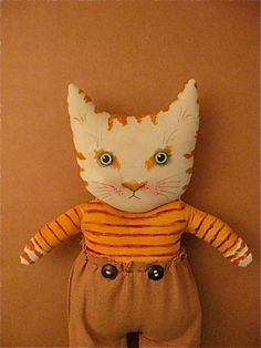 cat doll on Etsy