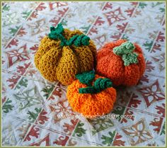 Posh Pooch Designs Dog Clothes: 3 Little Pumpkins Crochet Pattern | Posh Pooch Designs