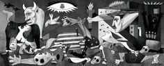 Aleppo: Syria Guernica  Cartoon by Vasco Gargalo , from Vila Franca de Xira, Lisbon, P...