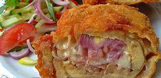 Érdekel a receptje? Kattints a képre! Hungarian Recipes, Diy Food, Bon Appetit, Lasagna, Bacon, Sandwiches, Goodies, Pork, Food And Drink
