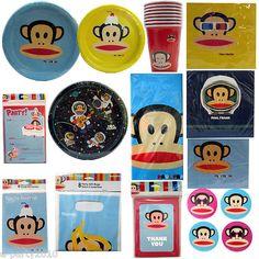 Paul Frank Birthday Supplies via Ebay