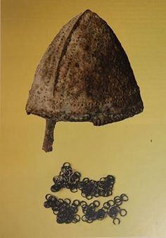 The only helmet from Great Moravia, unfortunately found by detectorist and sold to Germay. Locality - Bojná