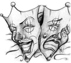 Laugh Now Cry Later Masks