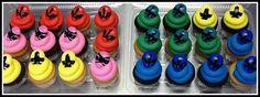 power ranger cupcakes - Google Search