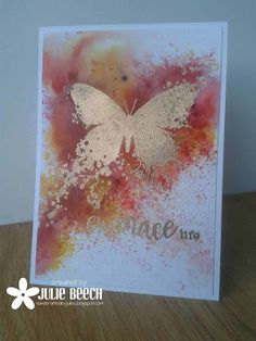 Crafted by Jules: Gold Butterfly