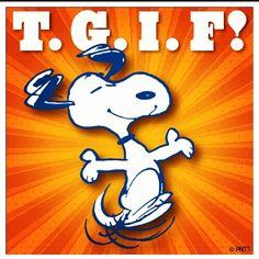 Friday, Friday, Friday!!!  Snoopy