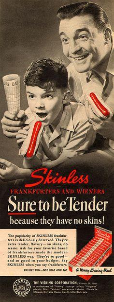 Skinless Frankfurters & Wieners (1948)