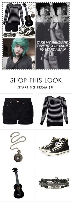 """It's Like I'm Sleepwalking"" by fallen000 ❤ liked on Polyvore featuring NSF, Zoe Karssen and Converse"