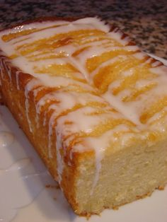 lemon bread Almost as Good as My DCD Meyers Lemon cake Mix,,,With white Chocolate Cream Frosting.