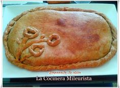 La Cocinera Mileurista: Empanada de atún con masa de vino y aceite
