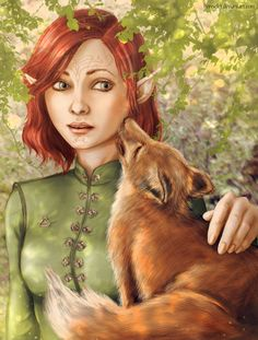 That wasn't an easy experience. But I'm quite satisfied with the result.  Lavellan is so different for everyone. This one is Root's version, and the ginger elf's name is Mangle. Dragon Age&nbs...