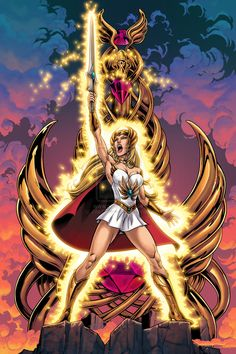She-Ra, Most Powerful Woman In The Universe by Axel Gimenez
