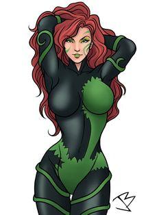 Deadshot, Deathstroke, Comic Book Girl, Comic Book Heroes, Poison Ivy Dc Comics, Modern Princess, Female Hero, Joker And Harley Quinn, Drawing Base