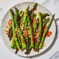 Blistered Asparagus | Bon Appetit