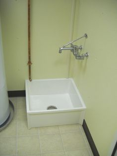 Industrial Mop Sink : ... industrial mop sink like this. No more hoisting buckets when mopping
