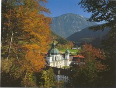 Ettal Abbey near Bertesgaden, Germany