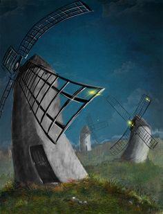 Don Quijote de la Mancha #quijote #illustration #concept #digital