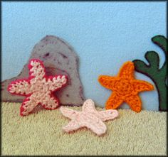 After my recent trip to the beach, the ocean is still on my mind. Here's a happy star applique from me to you. In my mind, they're s...
